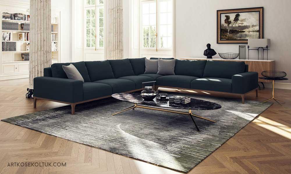 Köşe Koltuk Dekorasyonu, köşe koltuk modelleriyle dekorasyon